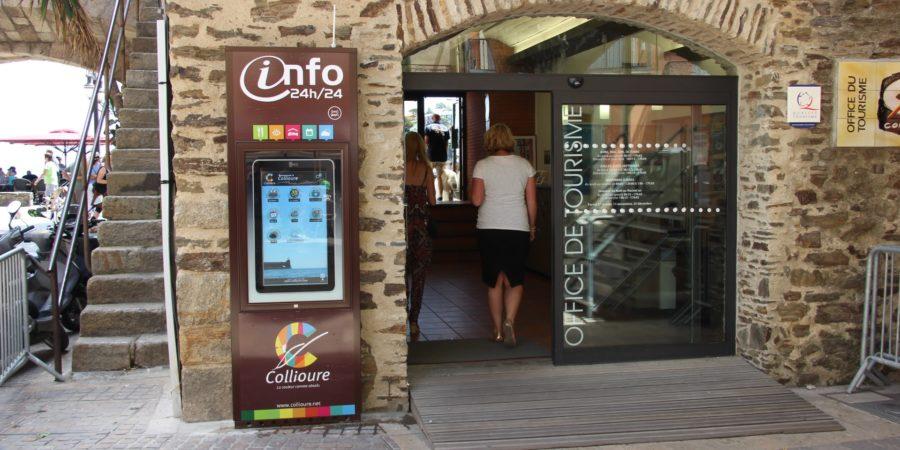 Mobilier urbain interactif à Collioure