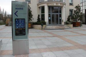 Mobilier urbain interactif à Enghien les Bains