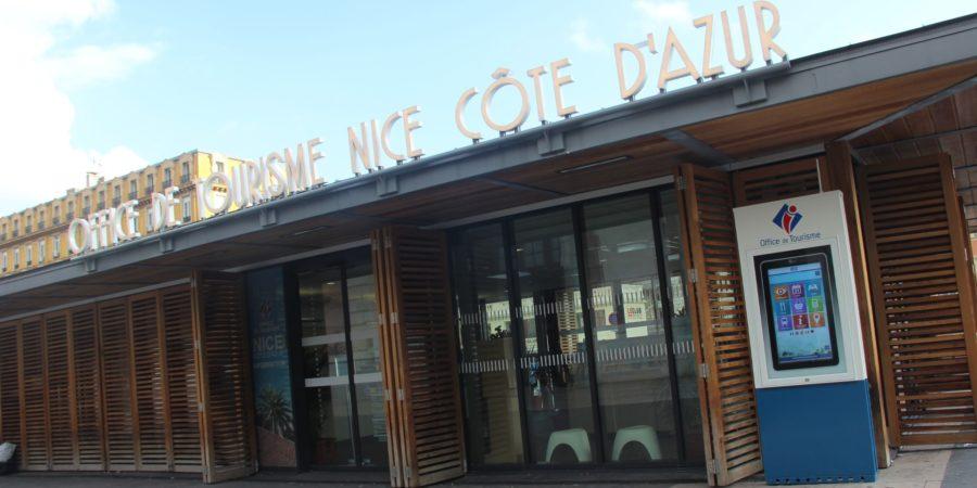Totem interactif à Nice