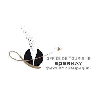 Logo de l'Office du Tourisme Epernay - Pays de Champagne