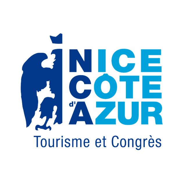 Logo de l'Office du Tourisme et des Congrès de Nice Côte d'Azur