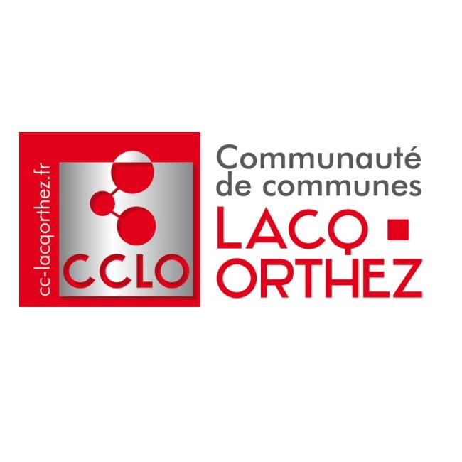 Logo Communauté de communes Lacq Orthez