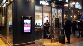 Borne interactive Paris gare du Nord