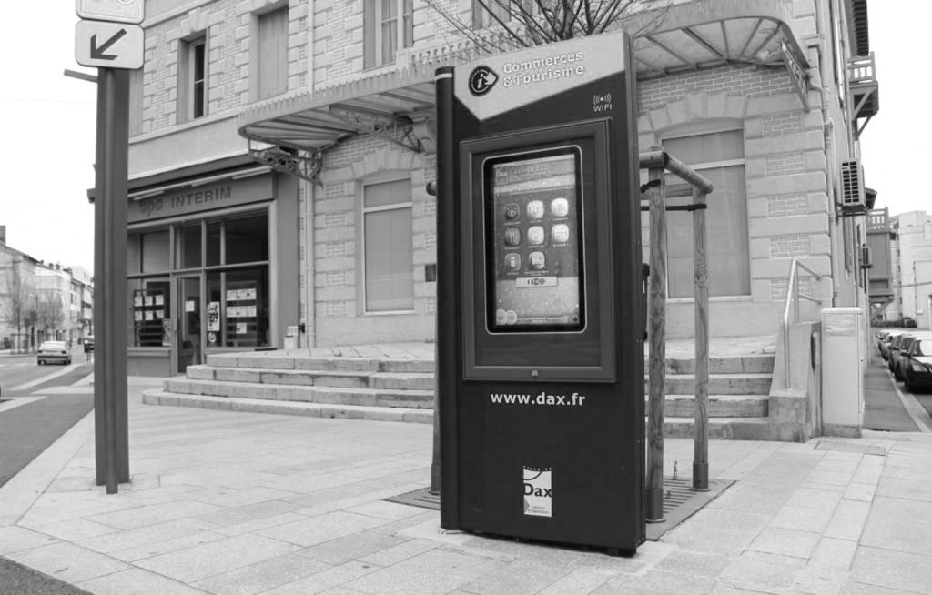mobiliers urbains interactifs St-Vincent-de-Paul- mobilier urbain interactif