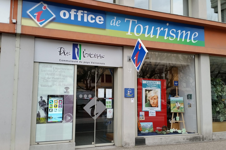 Borne vitrine Office de tourisme de Voiron