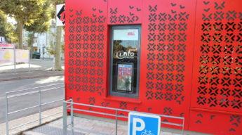 Borne d'accueil digitale OT Grand Villeneuvois