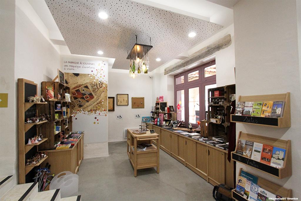 Espace 2 : La boutique
