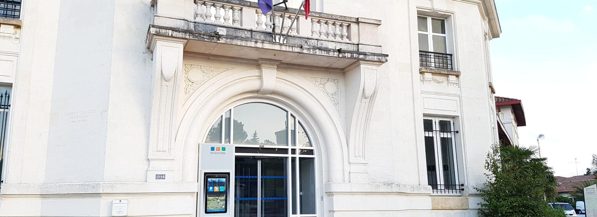 borne tactile cartelmatic mairie de seignosse