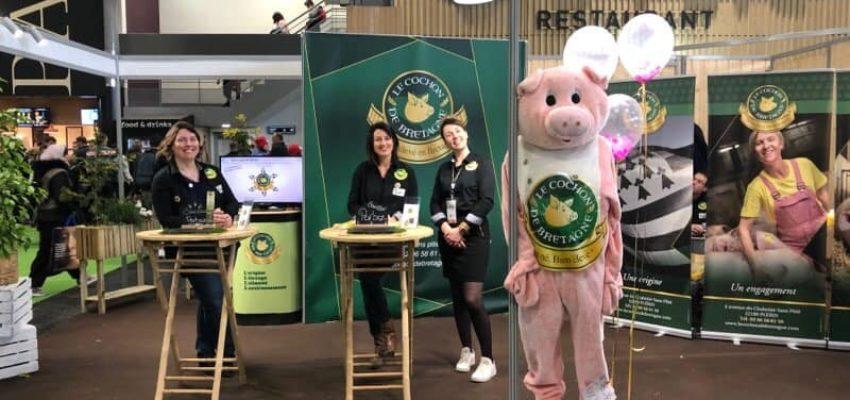 Le stand numérique du Cochon de Bretagne au salon de l'Agriculture 2020