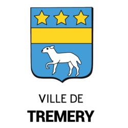 logo de la mairie de tremery vitrine connectée affichage légal