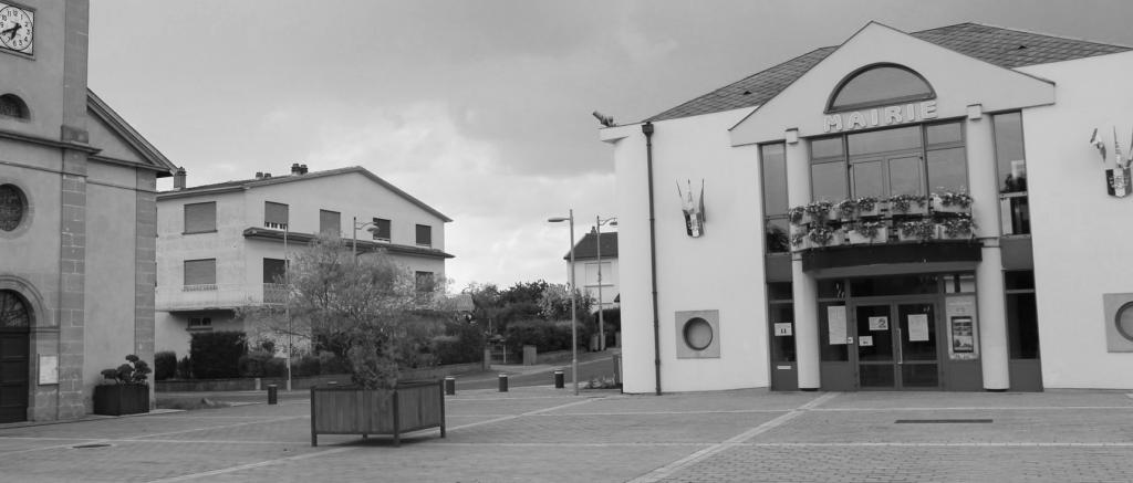 la mairie de Trémery avec une vitrine connectée pour affichage légal