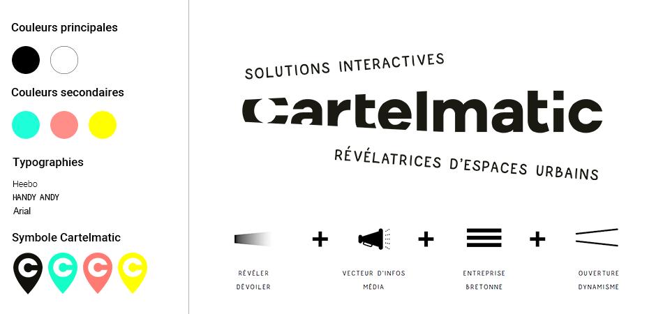 la nouvelle charte graphique de cartelmatic