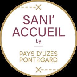 logo sani'accueil tourisme covid-19