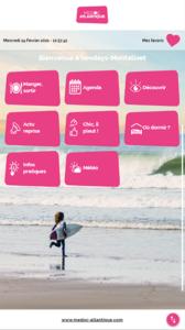 Applications bornes Office de Tourisme Vendays-Montalivet