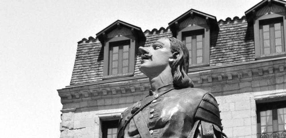 Photo statue Cyrano de Bergerac