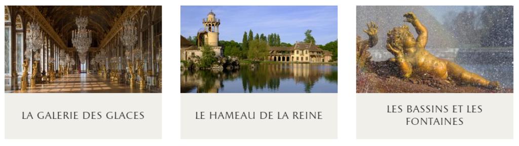 Versailles visite en virtuel découvrez le domaine capture d'écran