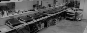 Atelier fabrication bornes françaises